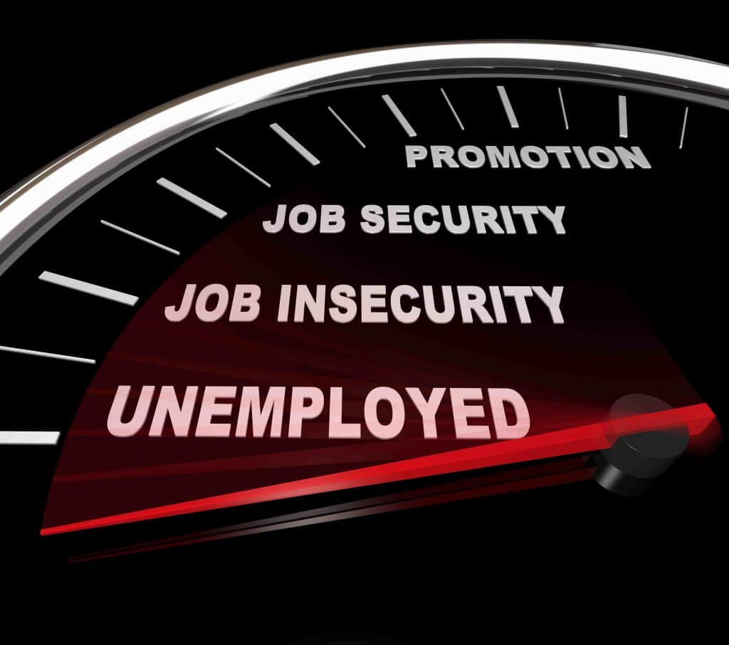 CareerSupport365 | No Need to Slam the Door on the Way Out? A Better Way! | Unemployed speedometer