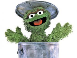 Oscar the Grouch_Outplacement: a grudge purchase?